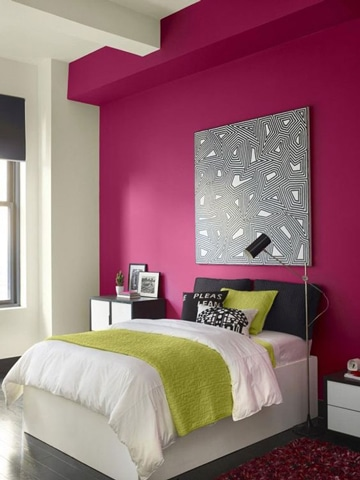 colores para cuartos de mujer moderna
