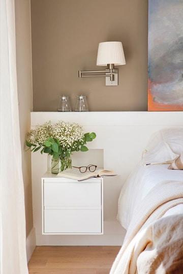 Descubre colores para cuartos de mujer con mucha personalidad - Lamparas de habitacion de matrimonio ...