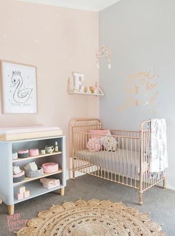 colores pasteles para dormitorios de bebe