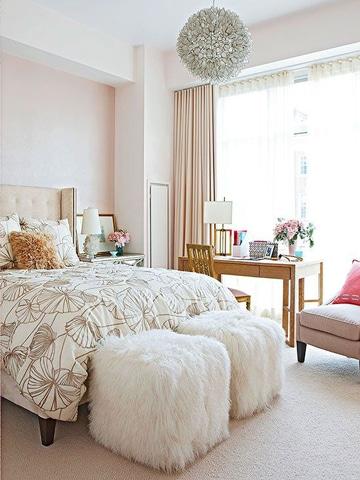 colores pasteles para dormitorios de mujer