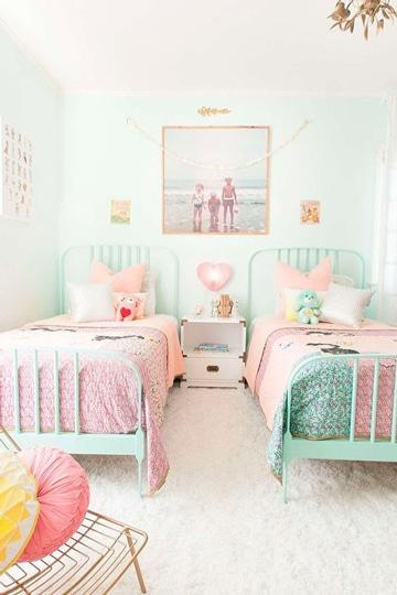 colores pasteles para dormitorios de niñas