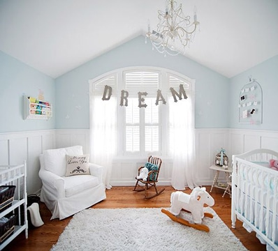 colores relajantes para dormitorios de bebe