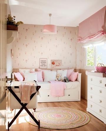 colores relajantes para dormitorios de niñas