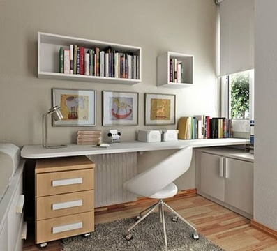 Aprende como decorar un estudio peque o y sencillo como for Como decorar un estudio