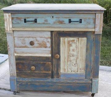 como pintar mesa de madera estilo vintage
