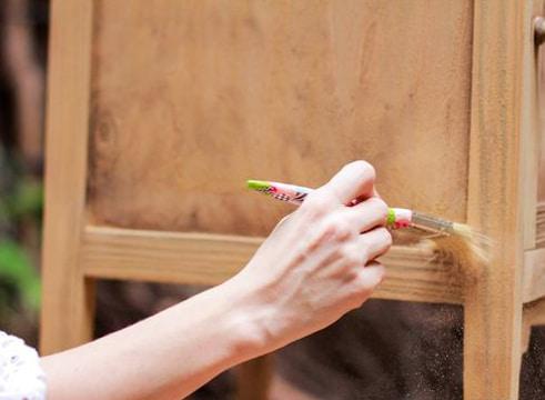 como pintar mesa de madera trucos caseros