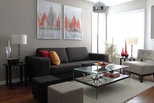 Mira estos cuadros para salas peque as con mucho estilo - Decoracion de salas pequenas y sencillas ...