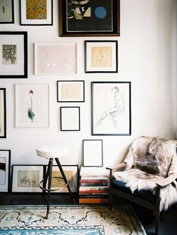 cuadros para salas pequeñas y bonitas