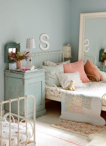 cuartos pintados de azul infantiles