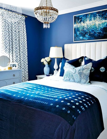 Te traemos más ideas de cuartos pintados de azul!