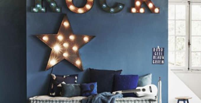cuartos pintados de azul | Como decorar mi cuarto