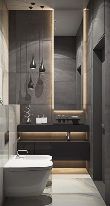 decoracion para baños modernos de vanguardia