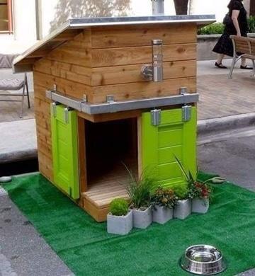 diseños de casas para perros ideas