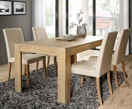 diseños de comedores de madera modernos