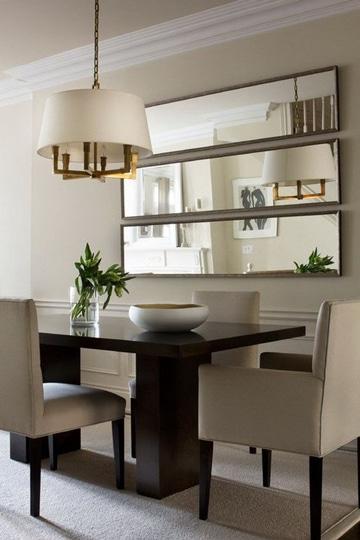 espejos para comedor modernos y rectangulares