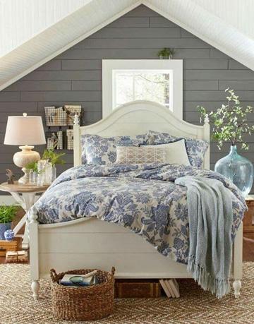 habitaciones blancas y grises ideas decoracion