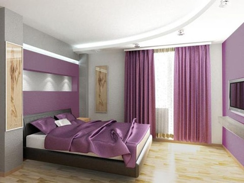 habitaciones color lila ideas decoracion