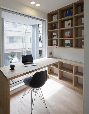 imagenes de escritorios de madera a medida