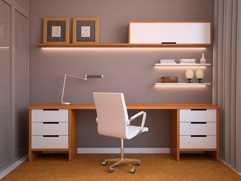 imagenes de escritorios de madera modernos