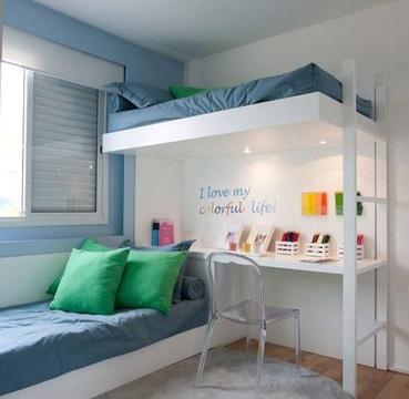 literas para espacios pequeños y comodos