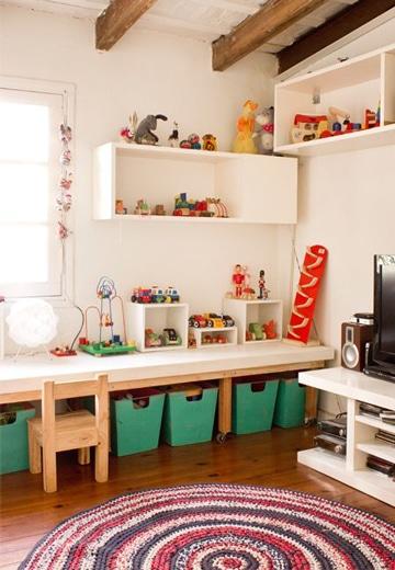 mesas de estudio para niños pequeños