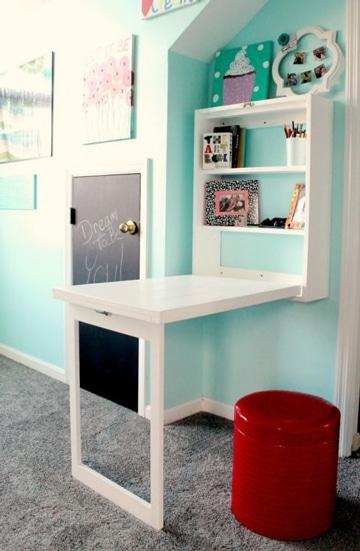 mesas de estudio para niños plegable