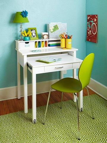 mesas de estudio para niños super sencilla