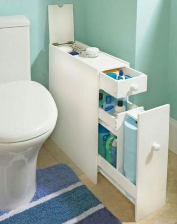 muebles ahorradores de espacio para baño