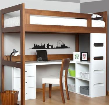muebles ahorradores de espacio para habitacion