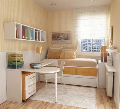 muebles para cuartos pequeños de estudio
