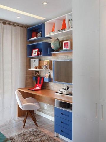 Qu te parecen estos muebles para cuartos peque os for Repisas en espacios pequenos