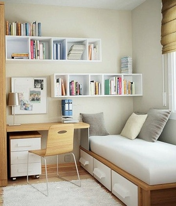 muebles para cuartos pequeños juveniles