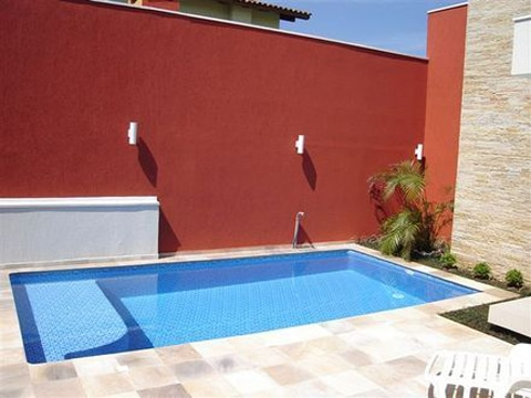 piscinas en patios pequeños rectangulares