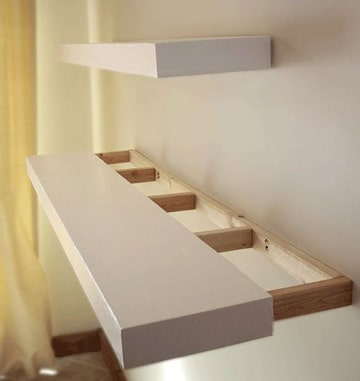 repisas flotantes para dormitorios sencillas