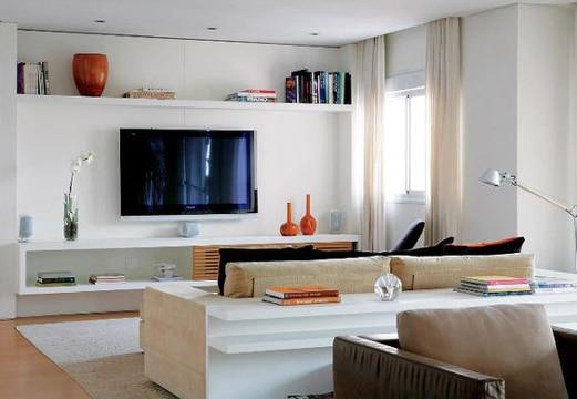 salas minimalistas pequeñas sencillas