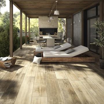 terrazas de madera rusticas en mobiliario
