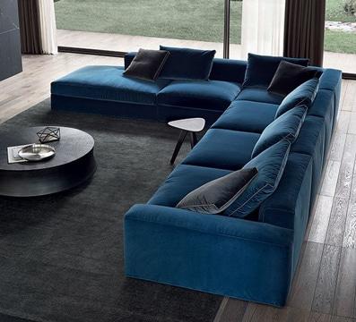 cojines modernos para sofas en living