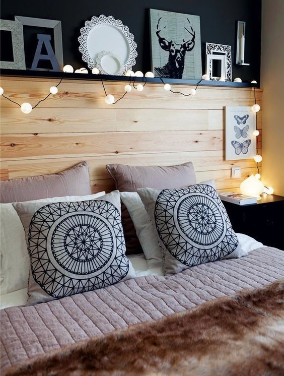 Mira estos sencillos cojines para cama de matrimonio - Cojines grandes cama ...