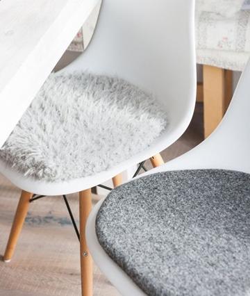 Cojines para sillas de comedor como decorar mi cuarto - Cojines para sillas ...