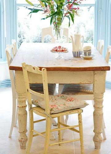 cojines para sillas de comedor vintage