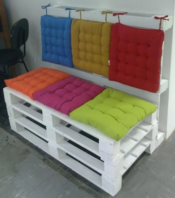 F jate en estos bonitos cojines para sillas de jardin - Cojines para sillas ...