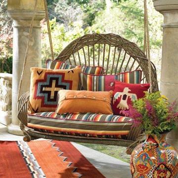 F jate en estos bonitos cojines para sillas de jardin - Sillones para restaurar ...