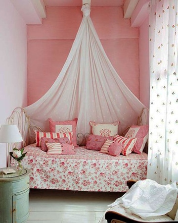 colores para cuartos pequeños de niña