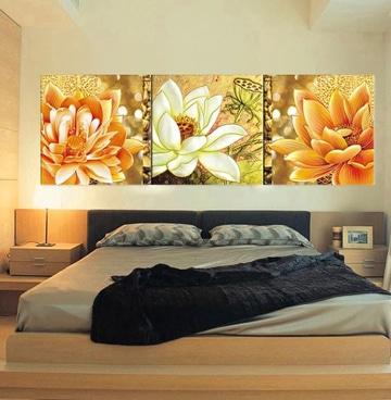Sorpr ndete con estos bellos cuadros de flores modernos for Quadros dormitorio