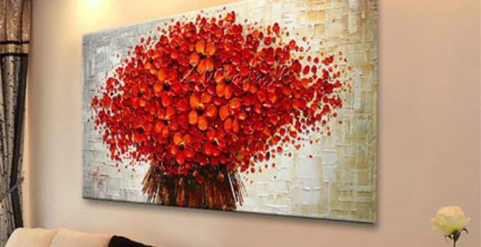 Cuadros oleo de flores modernos pinturas al oleo de for Cuadros modernos grandes dimensiones