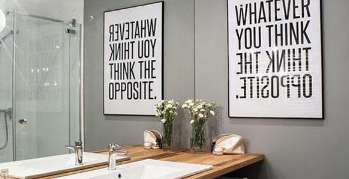cuadros para baños vintage | Como decorar mi cuarto