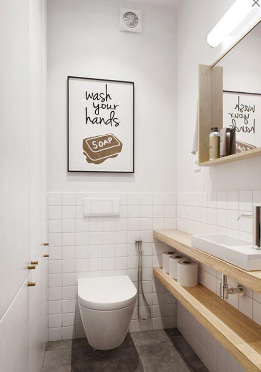 cuadros para baños modernos graciosos