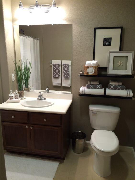 cuadros para baños modernos y simples