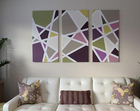 imagenes de cuadros modernos geometricos