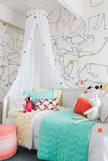 imagenes de cuartos pintados de animalitos